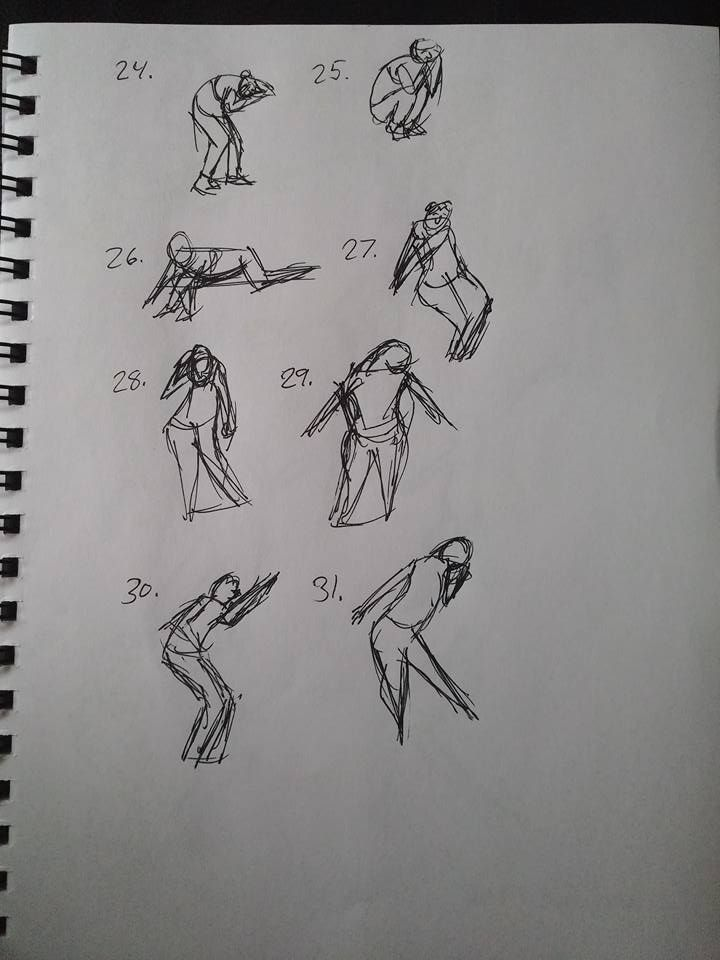 Shape gesture study page 7 of 8.
