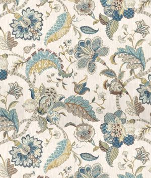 P. Kaufmann Finders Keepers French Blue Fabric - $19.55 | onlinefabricstore.net