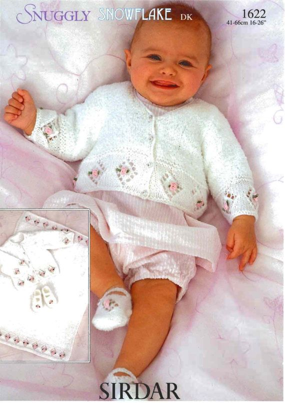 SIRDAR 1622 pdf Baby Knitting Pattern Baby Round by Newandold1, $3.00
