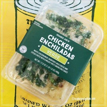 Trader Joe's Enchilada Chicken Verde $6.99 | #TraderJoes #Enchilada #Chicken #Verde  #トレジョ #エンチラーダ
