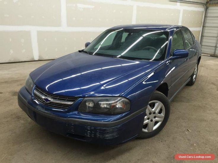 2004 Chevrolet Impala 4 Door Sedan #chevrolet #impala #forsale #unitedstates