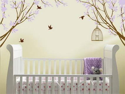 Decorazioni a muro per la cameretta dei bimbi - Paperblog