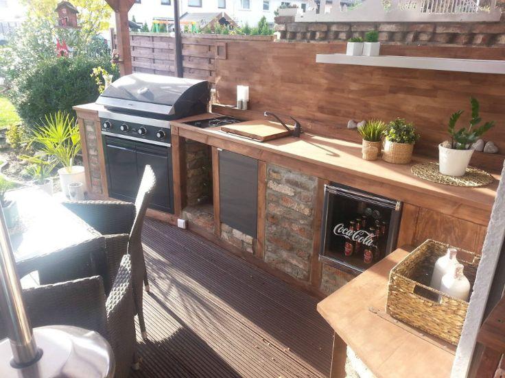 The 25+ Best Ideas About Garten Küche On Pinterest | Outdoor Küche ... Zubehoer Praktische Gartenkuche