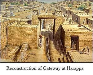 Lothal Harappan Civilization: Lothal is one of the most famous sites of Indus Valley (Harappan) Civilization. Lothal is located approximately 80 km southwest of Ahmedabad.