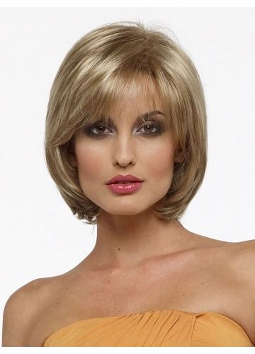 layered haircuts for short hair with bangs chin length bob wig only bob wigs see more 5787 | 39b47be31402df7c52c4624ae0c3d342 fine hairstyles layered hairstyles