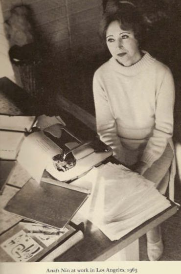 Anaïs Nin: The World's First Blogger?: Anais Nin Books, Typewriters Desks Writers, Inspiration, Henry Miller, Writing, Writers At Work, Writers Artists, Loveanaï Nin, People