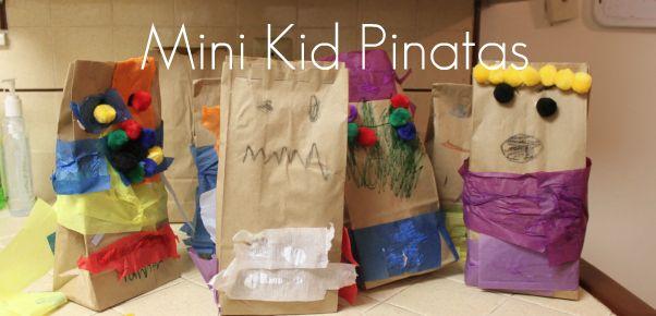 Paper Bag Pinatas | Somewhat Simple