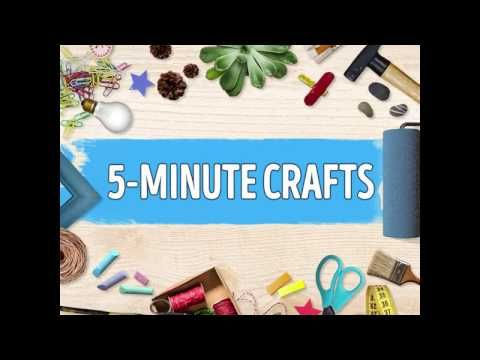 Bright side with 5 minute crafts youtube crafts for 5 minute crafts videos