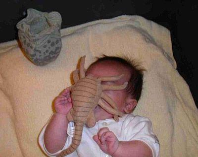 Aliens.: Geek, Babies, Pacifier, Baby Toys, Funny Stuff, Things, Aliens