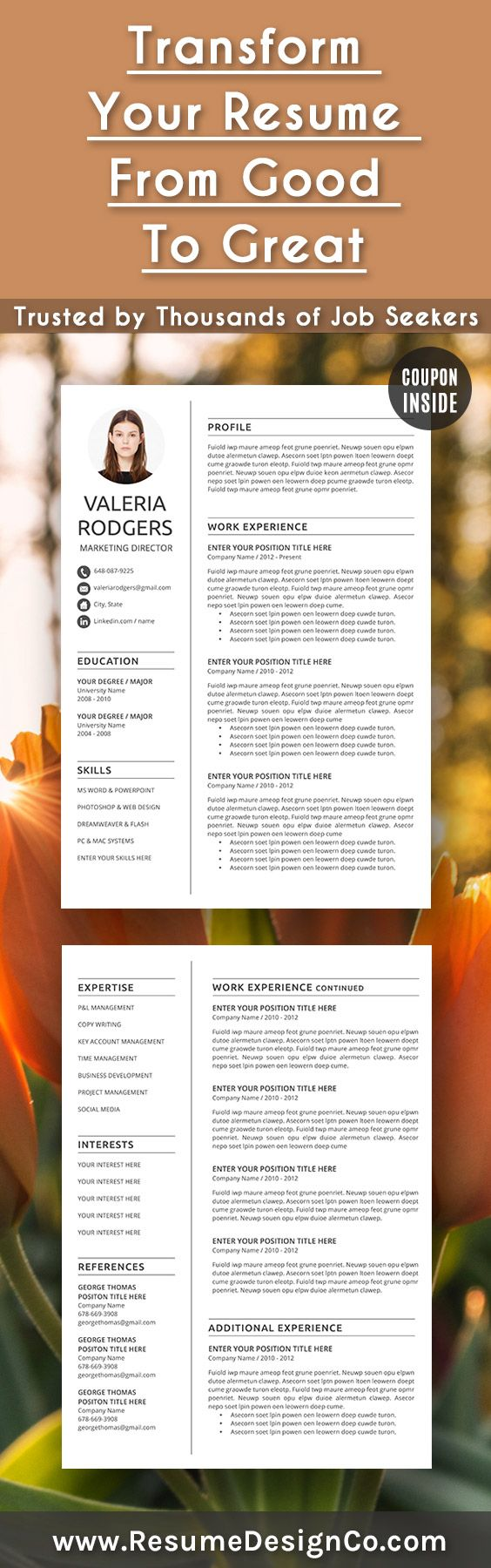 Transform your resume from good to great