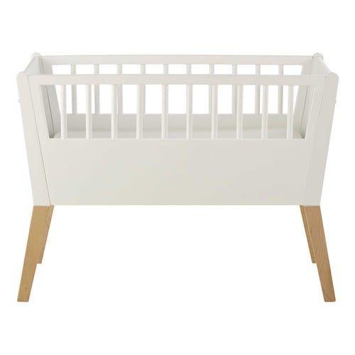 Witte houten wieg L 95 cm € 169,90