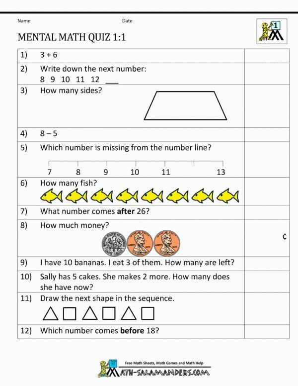 11+ Calendar Math Worksheet Money For First - - Check more ...