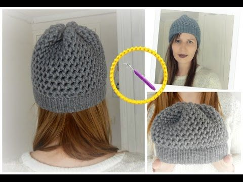 [ DIY ] Bonnet en point 8 et bord point endroit au tricotin circulaire, My Crafts and DIY Projects