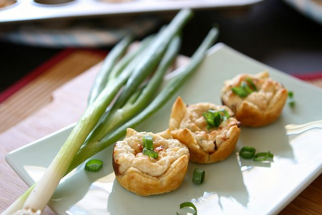 Crab Puffs . Super simple Party Food!