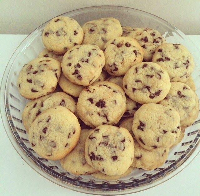 Les patisseries de mama: Cookies aux pépites de chocolat