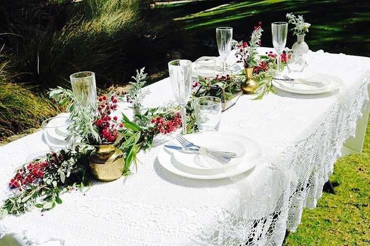 Natural Tablescape for Little Vintage Hire Co. styled shoot