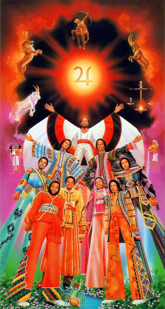 The Elements of the Universe.Earth Wind & Fire!