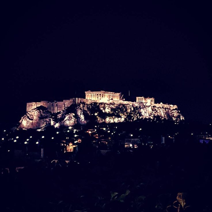 •🏛#acropolis#parthenon#view#night#history#rock#ancient#beautiful#love#instalifo#athensvoice#hotel#bc