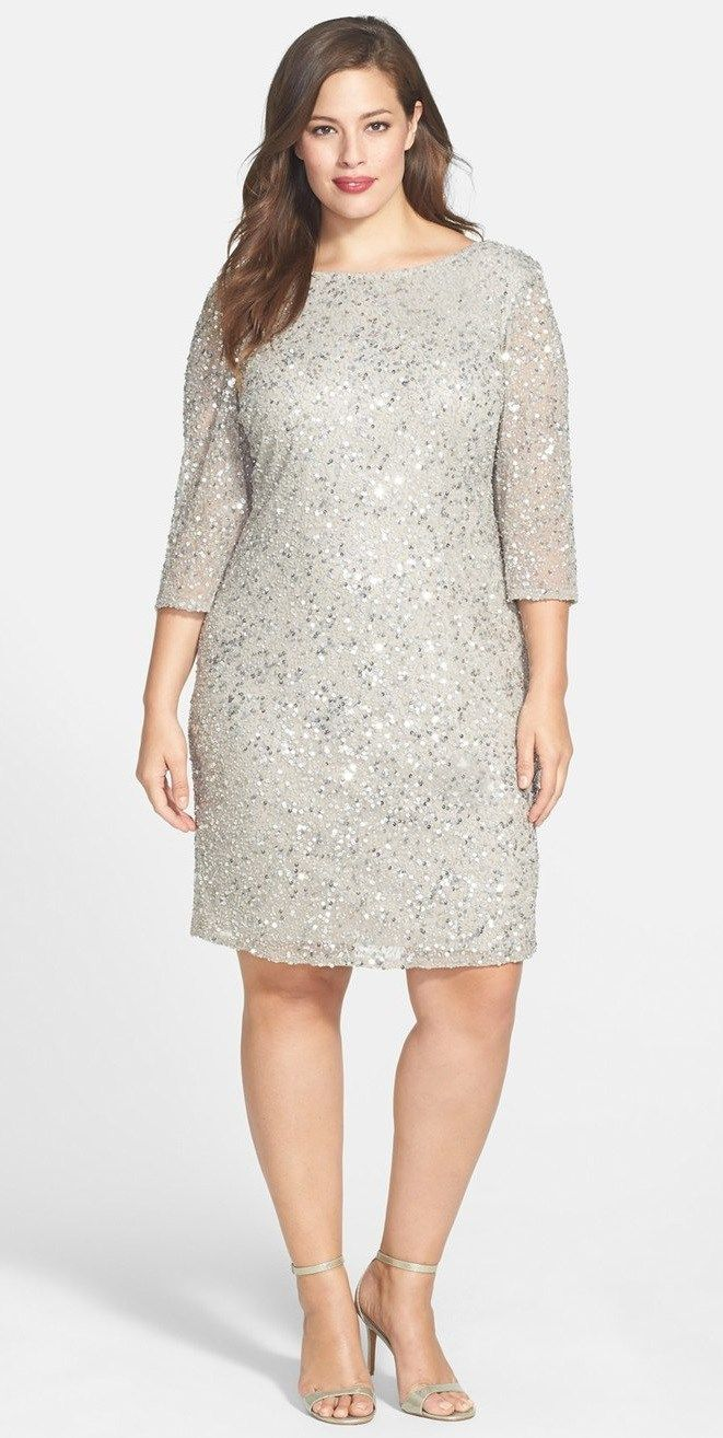 Cool  Plus Size Wedding Guest Dresses with Sleeves