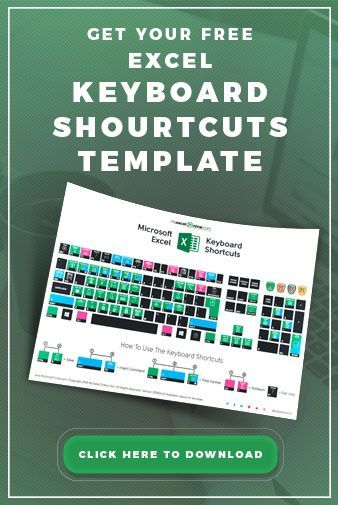 The Ultimate Excel Keyboard Shortcuts Template!!!👉 Over 50 MUST
