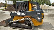 2011 John Deere 319D Track Skid Steer Loader skid steer loaders - construction equipment - equipment financing - heavy machinery