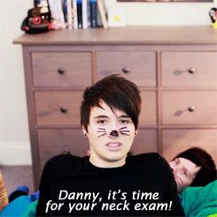 PHIL CALLED DAN DANNY CANNOT GET OVER THIS ASDFGHJTWYURYJN