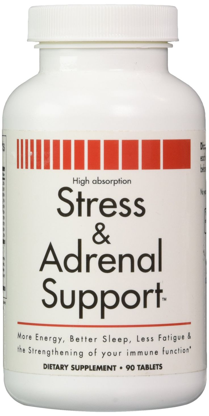 Stress and Adrenal Support Vitamin: http://www.amazon.com/Adrenal-Support-Supplements-Address-Symptoms/dp/B002IS8OZU/ is a supplement used to help reset your adrenals and help handle stress with vitamins. It works really really well.