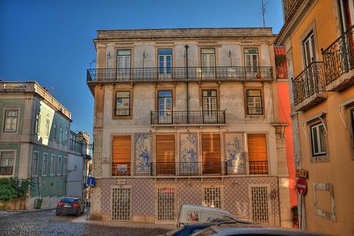 Portugal - Lisbon - Lisboa - Rua do milagre de Santo Antonio