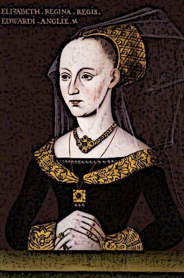 Medieval King Edward IV's wife was Elizabeth Woodville. They secretly married on 1st May 1464.