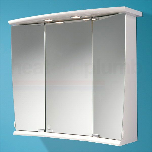 Picture Gallery Website HiB Alata Illuminated Bathroom Cabinet mm High x mm Wide x mm Deep