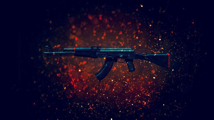 """CS:GO-Best Sticker Combinations:""""AK-47""""   Красная линия"""