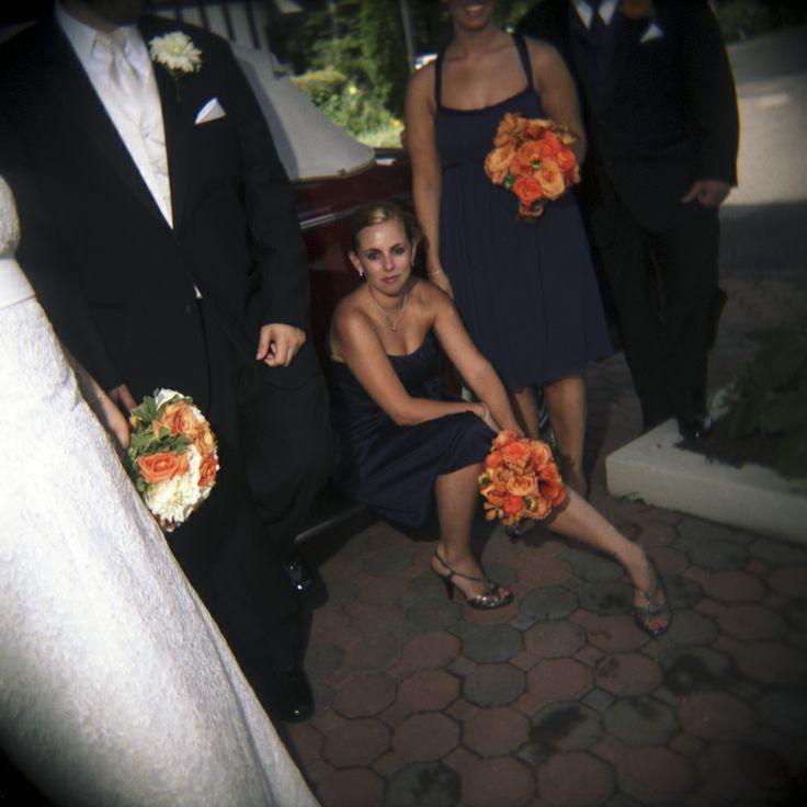 Bridesmaid attitude.  :)