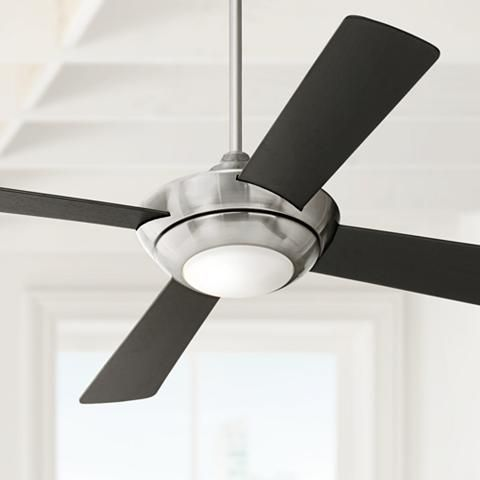 "52"" Casa Vieja Debute Brushed Nickel Ceiling Fan - #M2473 