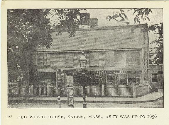 Witch House in Salem circa 1856