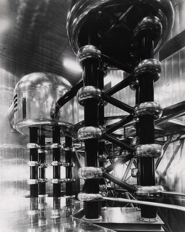 20 fotos de instalações da era atômica