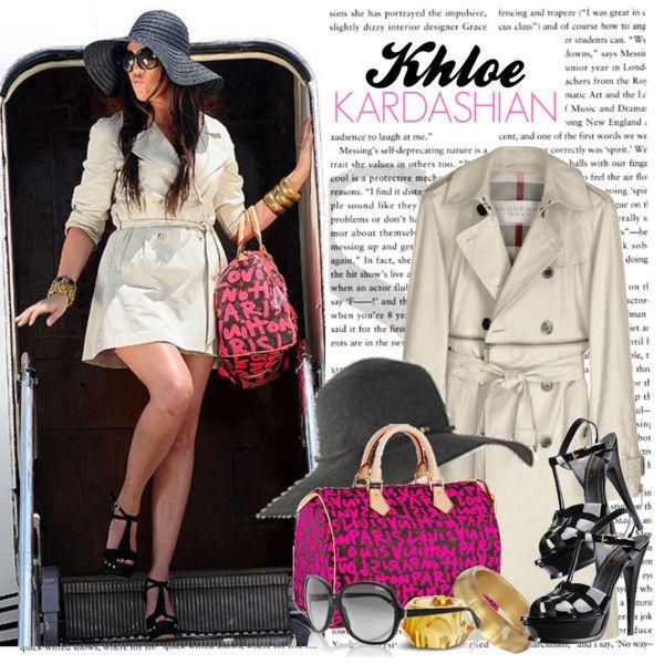 589. Celeb Style : Khloe Kardashian (13.04.2010), created by munarina on Polyvore