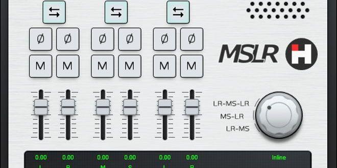 MSLR FREE Mid/Side Audio Processing VST Plugin   Music