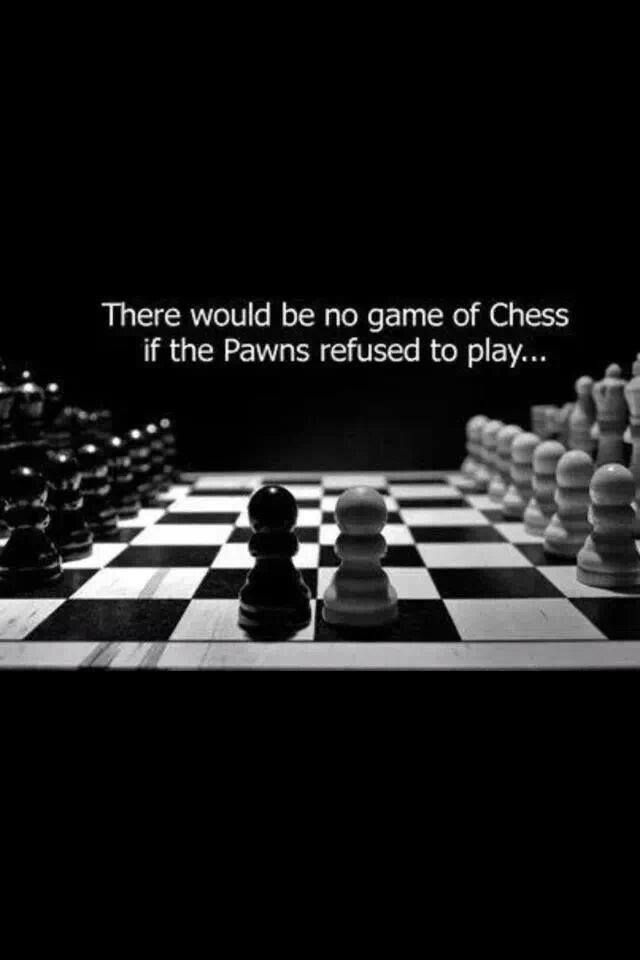 A game of Chess.