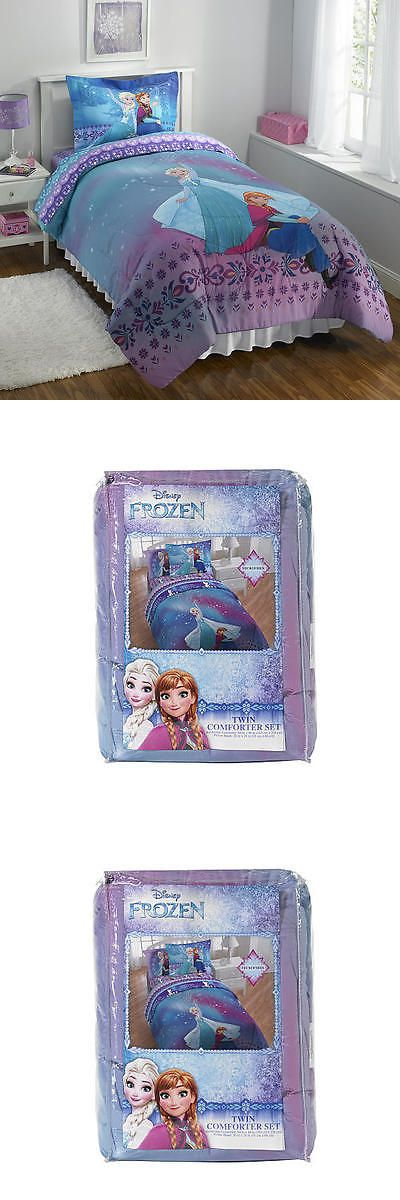 Kids Bedding: Disney Frozen Light Up The Sky Twin Comforter Set BUY IT NOW ONLY: $39.99