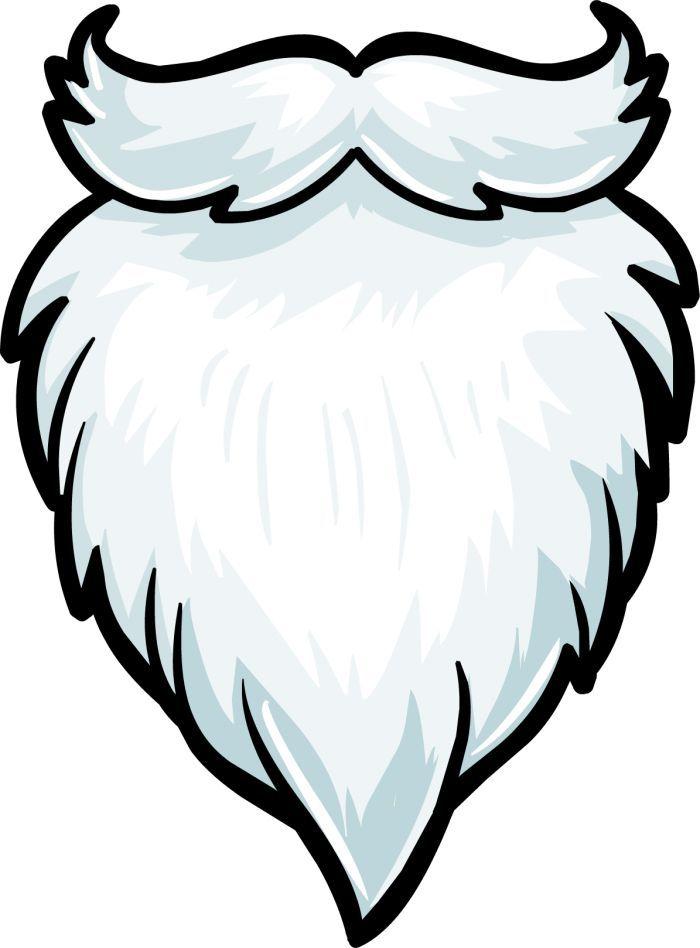 White Beard Png Vector Clipart Psd Peoplepng Com Santa Beard Clip Art Beard