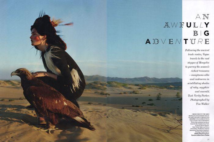 An Awfully Big Adventure - British Vogue 2011