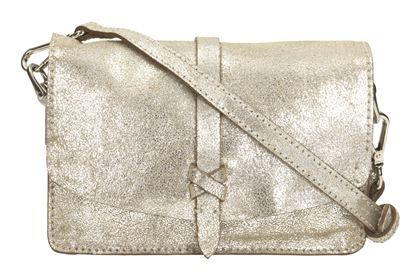 Clarks Rigo Hope - Silver Leather - Leather Bags | Clarks