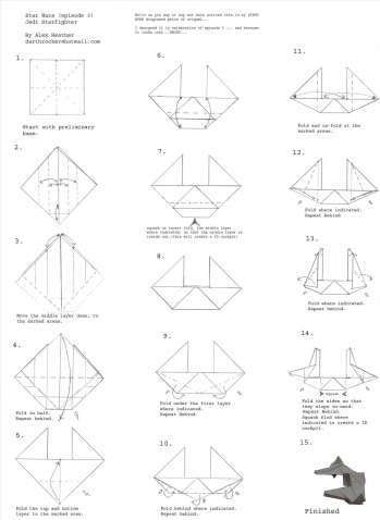 inspirational origami robot instructions | best photos for ... origami tiger diagrams complex origami robot diagrams #1