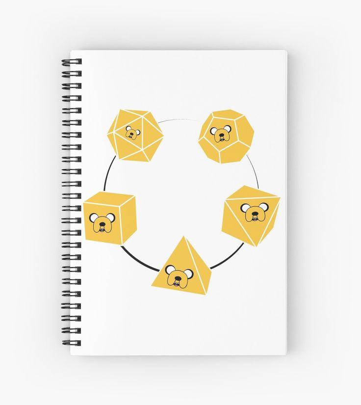 Adventure Time Jake Platonic Solids T Shirt