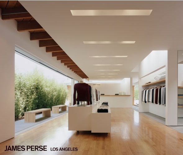 James perse store la architecture commercial for Architecture perse
