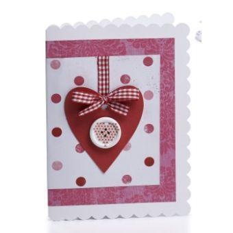 Button Heart Card | Craft Ideas & Inspirational Projects | Hobbycraft