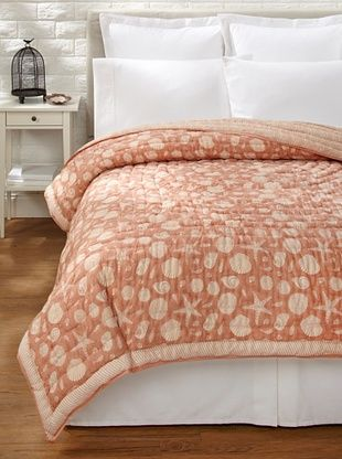 65% OFF Suchiras Coral Quilt (Coral)
