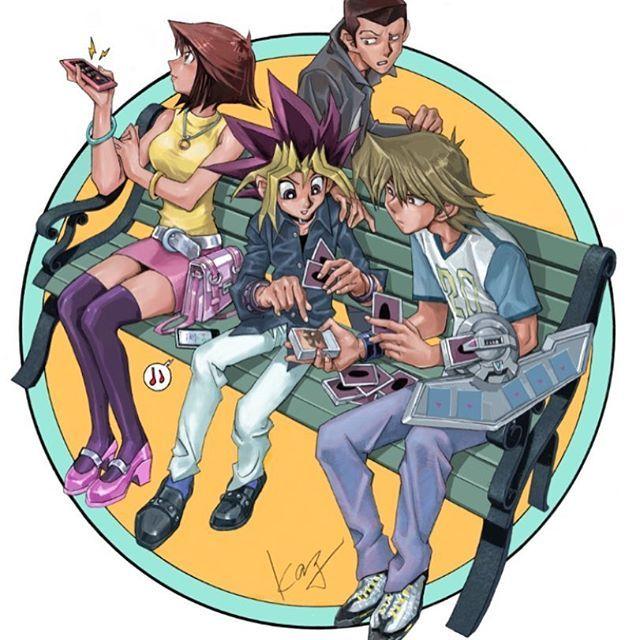 劇場版遊戯王の初期の脚本では 杏子がカードばかりに熱中する遊戯に愛想をつかすシーンがあったのですがボツにしました!笑