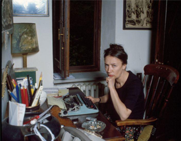 Oriana nella casa di Greve in Chianti (2) - Foto - Oriana Fallaci