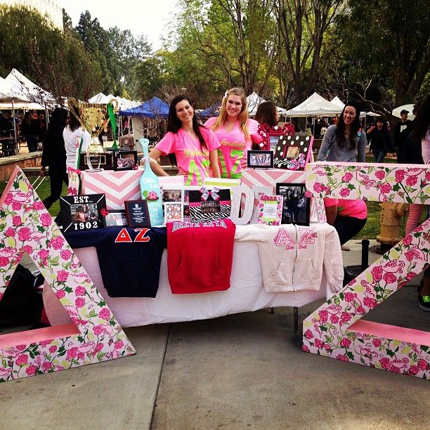 Table Sugar! My chapter made it to Sorority Sugar! Lookin good, ladies :)